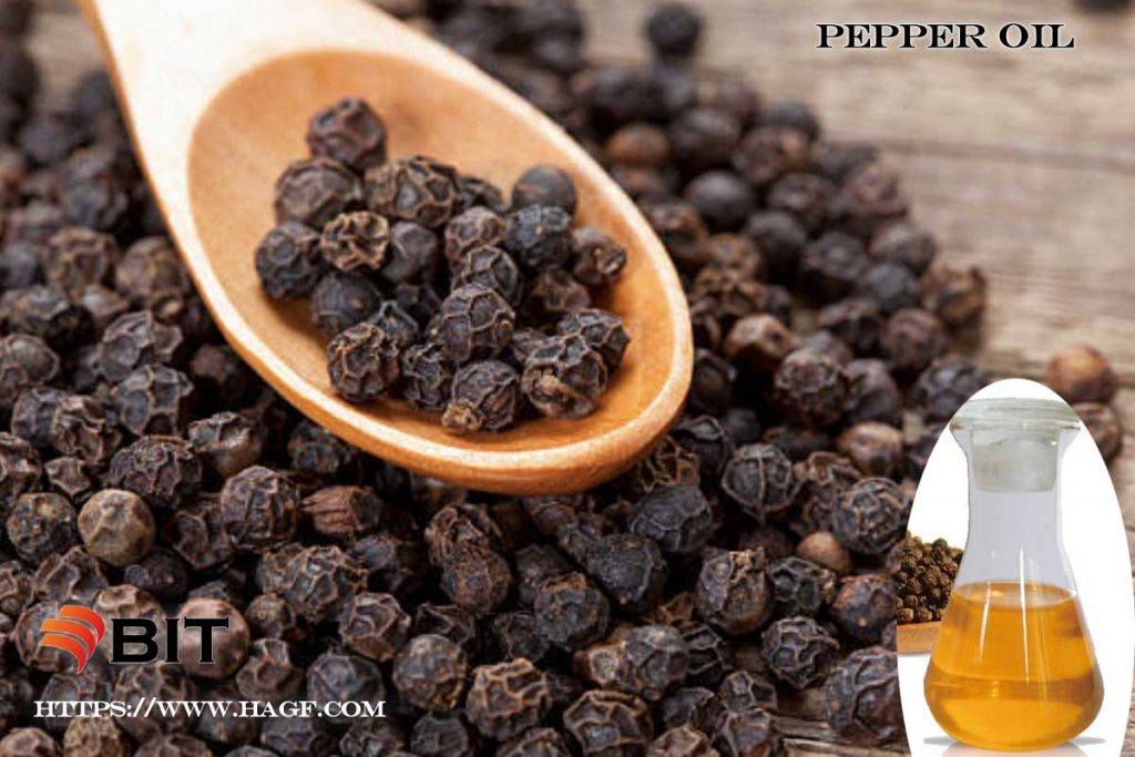 Supercritical CO2 Extraction of Pepper oil