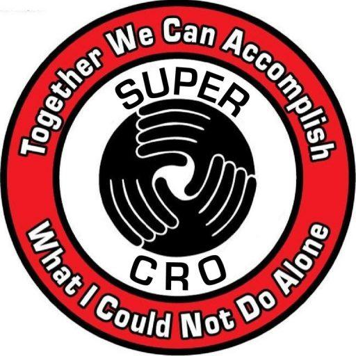 The logo for SUPER CRO