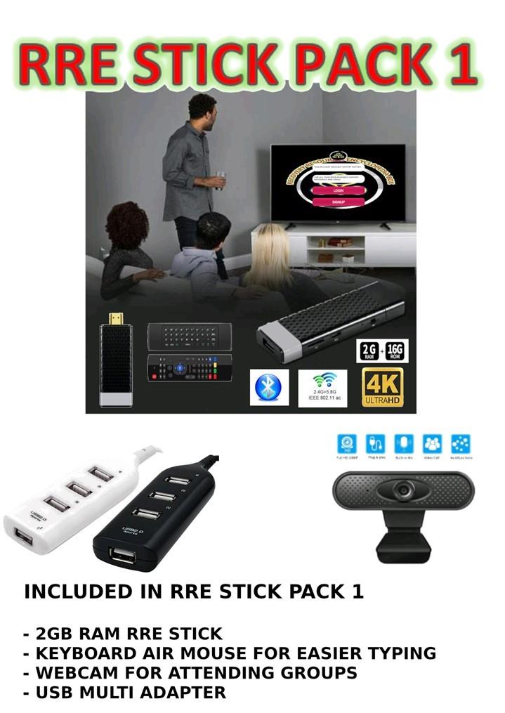 RRE Stick Pack 2