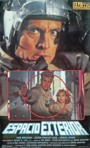 This movie is about space, guns, space guns, and pointing space guns at other people with space guns.