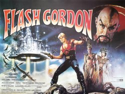 Flash Gordon posters are a special flavor of awesome that needs no explanation.