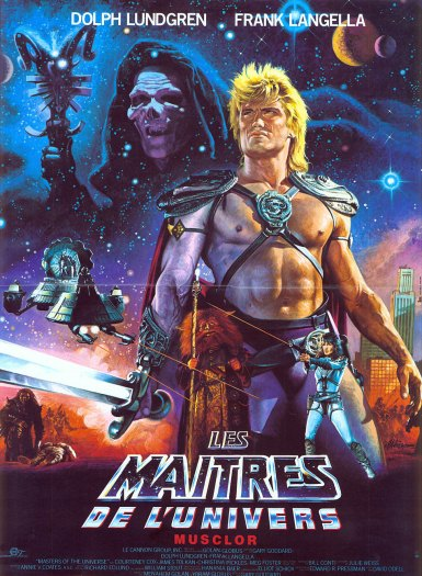 No matter how lame an 80s Sci-Fi Fantasy movie might seem, I can always count on there to be 2 or 3 AWESOME posters for it.