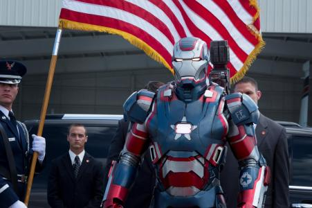 Don Cheadle returns as Colonel James Rhodes, aka The Iron Patriot