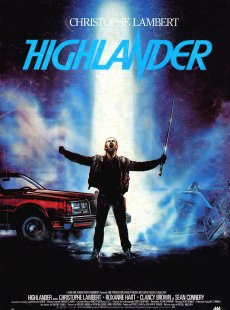 Basically Highlander is what you'd get if you tried to make a movie out of a Heavy Metal album cover