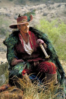 This dashing as hell, peacock feather cape wearing, mother f$#*-er!!