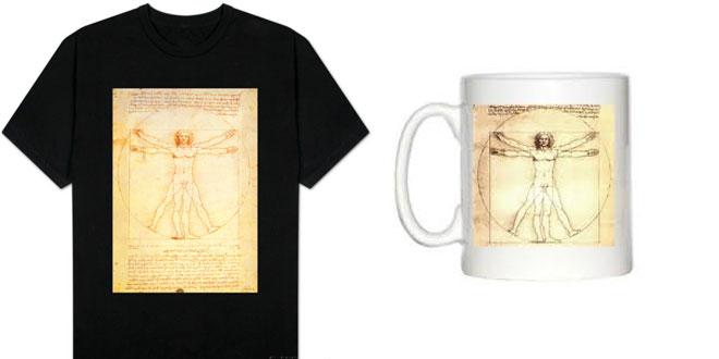 camiseta y taza