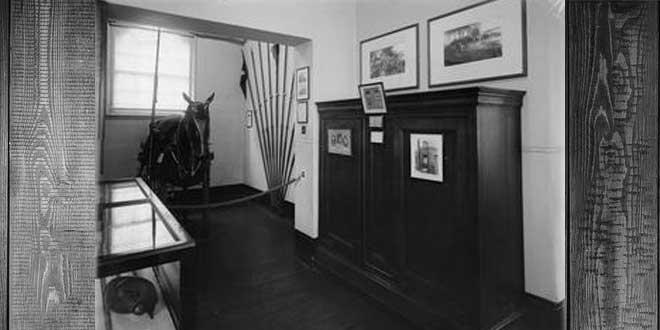 Armario actualmente expuesto en el Museo de Guerra de Londres