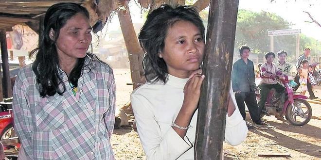 Rochom P'ngieng, la triste vida de la joven salvaje