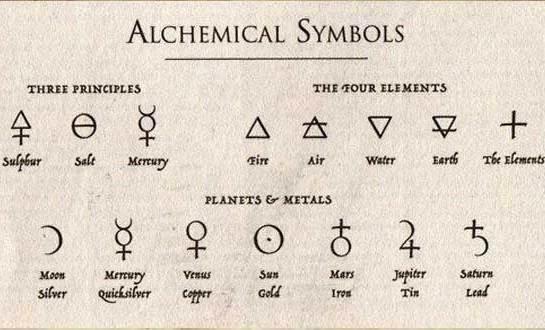 5 Símbolos utilizados alquimia e seu significado