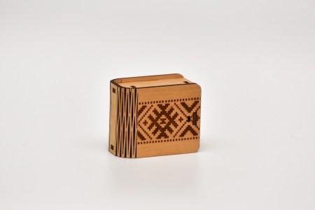 Mini kastīte (latvju josta)