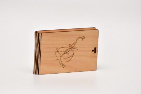 Kastīte dāvanu kartēm (putni)