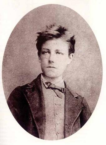 Image of Rimbaud in teenage years