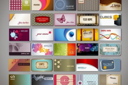20 Free Business Card Design Templates from Freepik   Super Dev     Variety of business card design templates vector