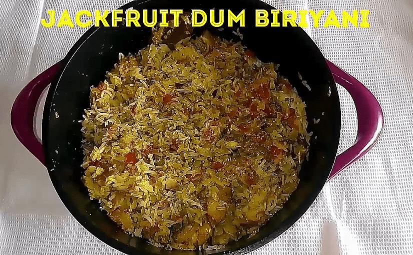 Raw jackfruit Dum Biriyani