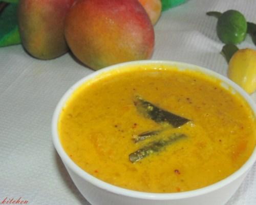 Mambazha Pachadi / Sweet mango relish