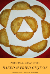 Baked & fried Gujiyas_pin