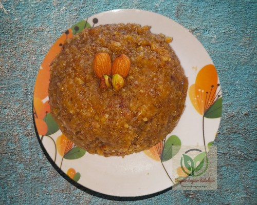 Almond Pistachio Halwa
