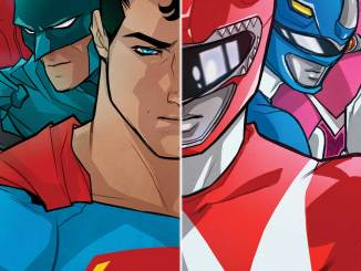 Justice League Mighty Morphin Power Rangers