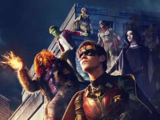 The Titans with Hawk and Dove