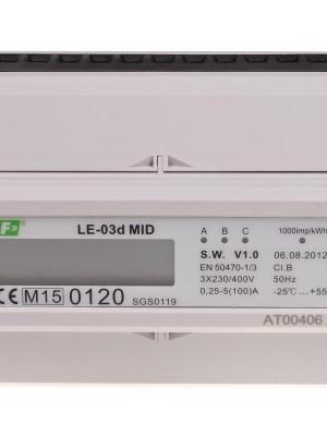 (LE-03d) Stromzähler für Hutschiene