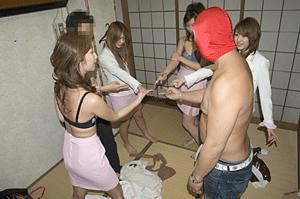 札幌ピンクコンパニオンと宴会ゲーム1
