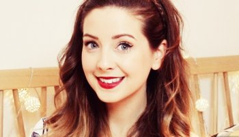 Zoella Fans Mistake Her Knee For This Sparking Mass Panic