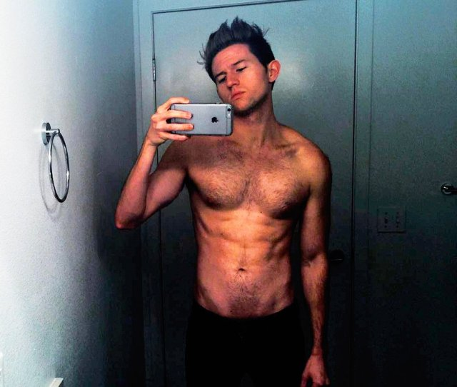Ricky Dillon Shirtless Abs