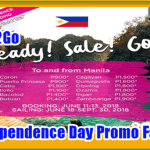 2Go Promo Ticket: June 18 to September 30, 2018