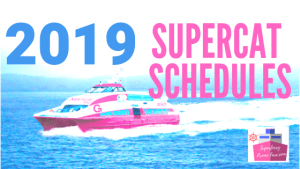 2019 SUPERCAT SCHEDULES