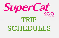SuperCat Trip Schedules