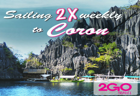 2Go Superferry Manila to Coron Palawan Promo 2016
