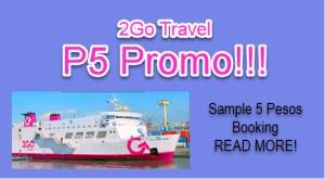 2Go 5 Pesos Promo Ticket Sale 2016