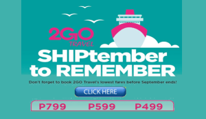 2Go Promo October to November 2016