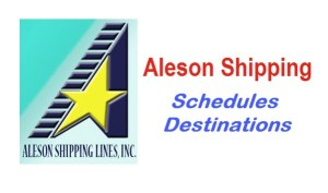 Aleson Shipping Daily Schedules and Destinations
