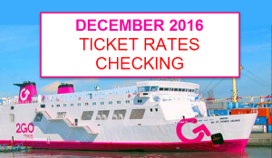 2Go Rates for December