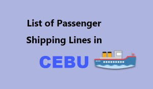 LIST: Passenger Shipping Lines in Cebu