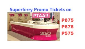 2Go Promos in PTTA Travel Expo 2017