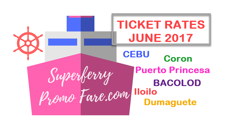 2Go ticket price June 2017