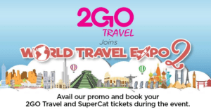 2GO Travel Promo Tickets from October, November, December 2017 for as low as 575 Pesos