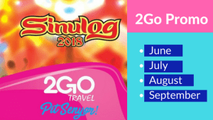2018 Promos of 2Go Travel From June to September