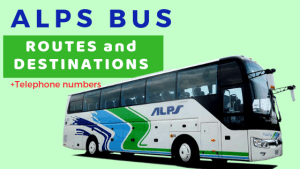 ALPS BUS Routes, Destinations, Contact Numbers BICOL, BATANGAS PIER, BATANGAS