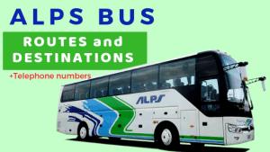 ALPS BUS Routes Destinations