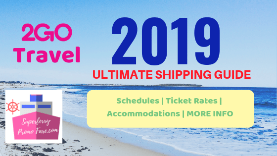 2019 2Go Travel Shipping Guide Schedules Rates