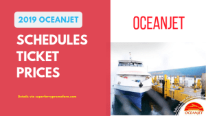 oceanjet schedules ticket prices