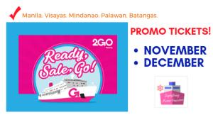2go promo 2019 november and december