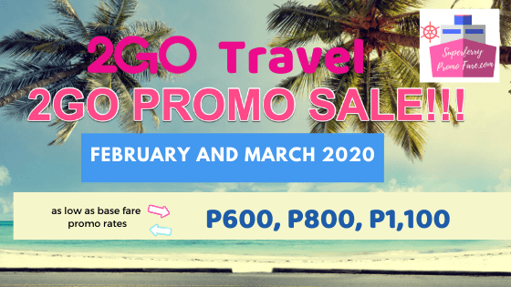 2go promo 2020 ticket sale