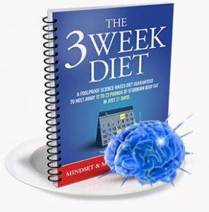 3 week diet mindset manual review