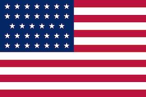 Unionist Civil War Flag