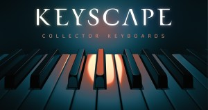 A promo image for Keyscape Collector Keyboards