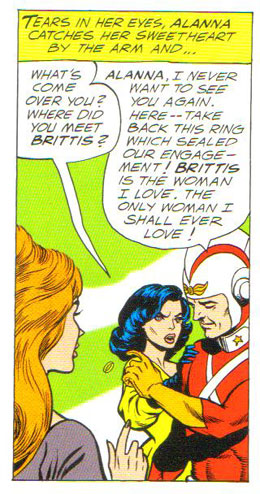 Adam Strange, two timer of two worlds?